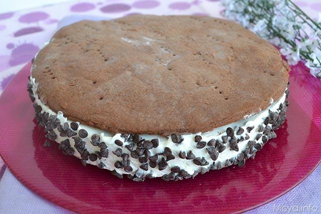 Torta gelato cookies