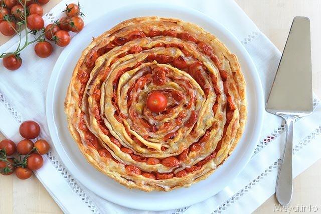 Torta salata a spirale Ricetta Torta salata a spirale