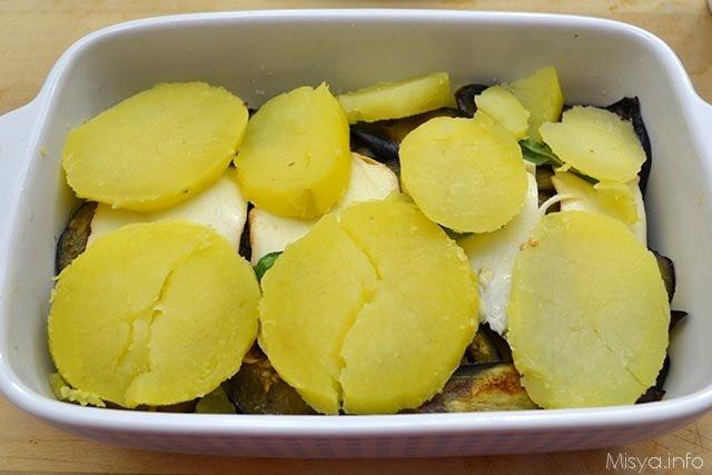 Tortino di melanzane e patate 10