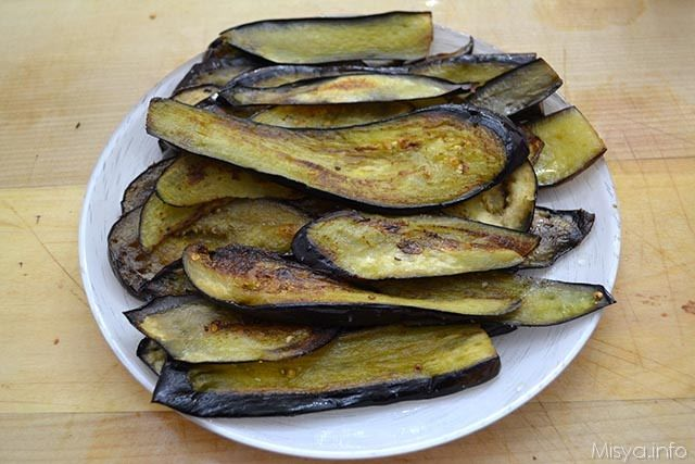 Tortino di melanzane e patate 4