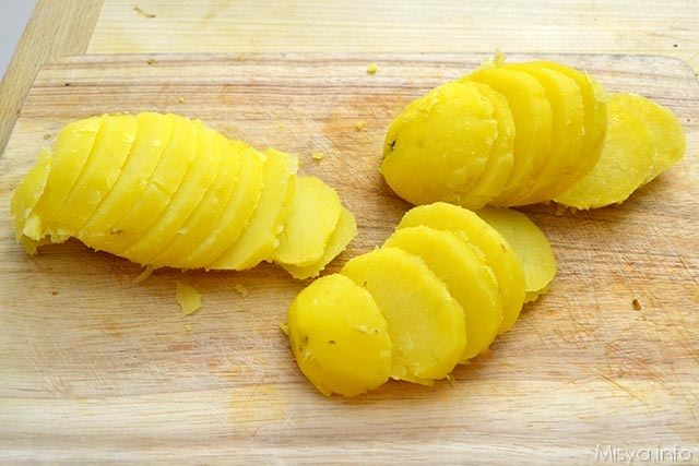 Tortino di melanzane e patate 5