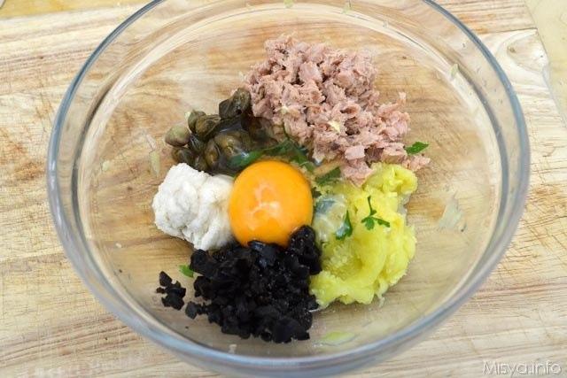 Zucchine ripiene di tonno 7
