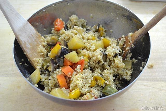 quinoa con cianfotta 5