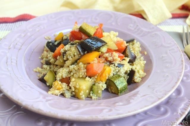 quinoa con cianfotta