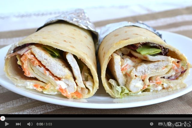 Video ricetta chicken rolls