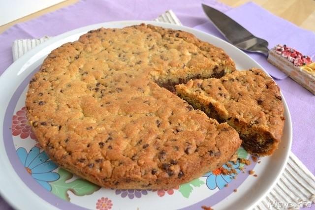 Torta cookies bimby