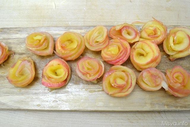 15 roselline di mele