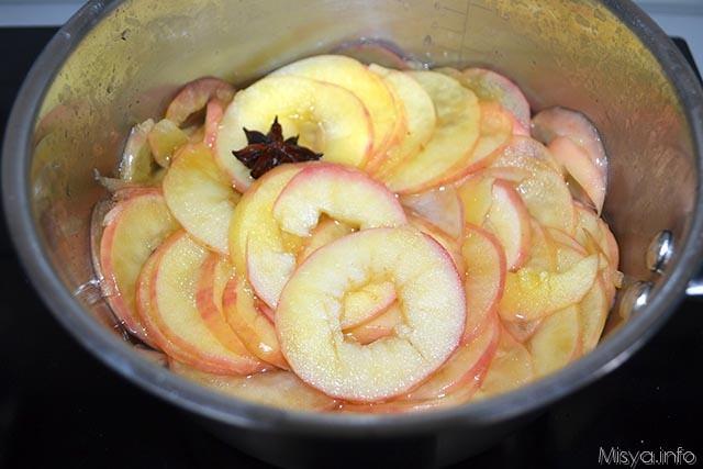 8 far cuocere le mele