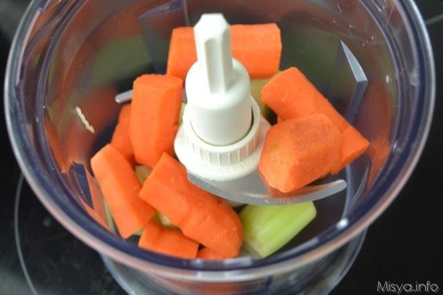 2 verdure nel mixer