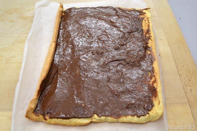 26 strato crema al cioccolato