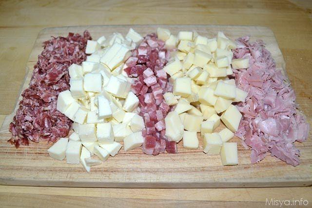 6 affettati e formaggio
