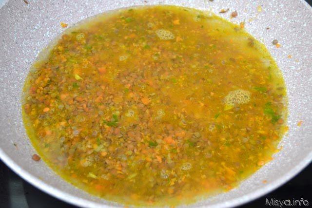 7 cuocere lenticchie