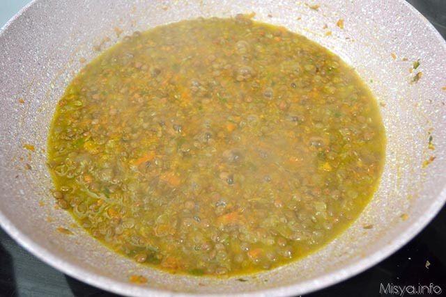8 cuocere lenticchie