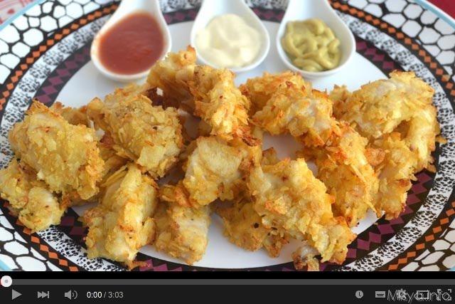 Video ricetta pepite di pollo croccanti