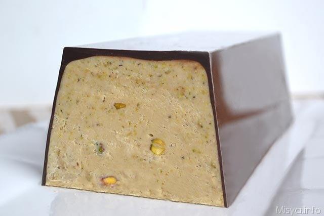 Torrone morbido al pistacchio