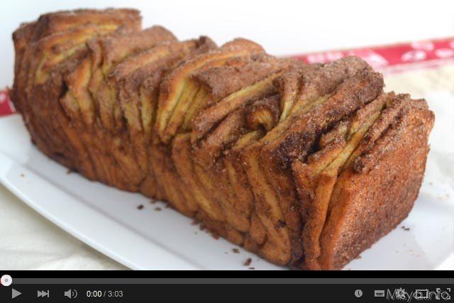 Video ricetta brioche fisarmonica alla cannella