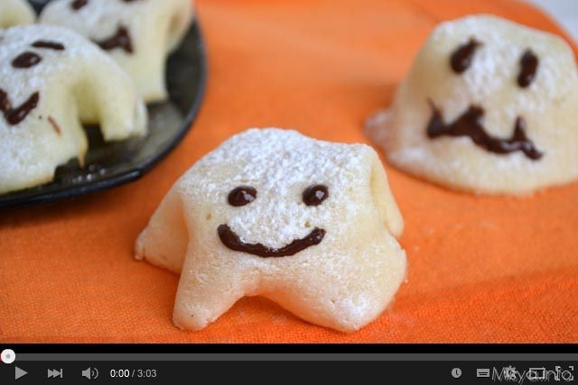 Video ricetta fantasmini di Halloween