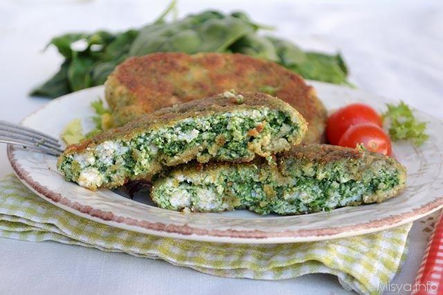 spinacine ricetta