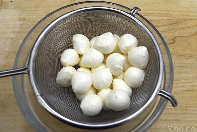 1 mozzarelline