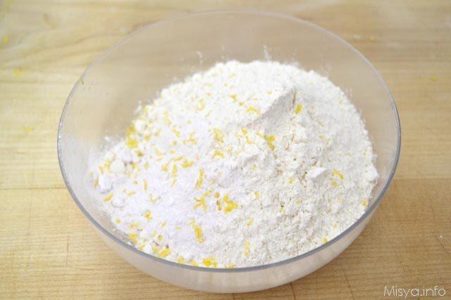 3 farina e buccia limone