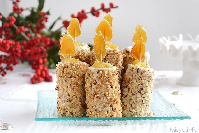 » Candele dolci di Natale - Ricetta Candele dolci di Natale di Misya