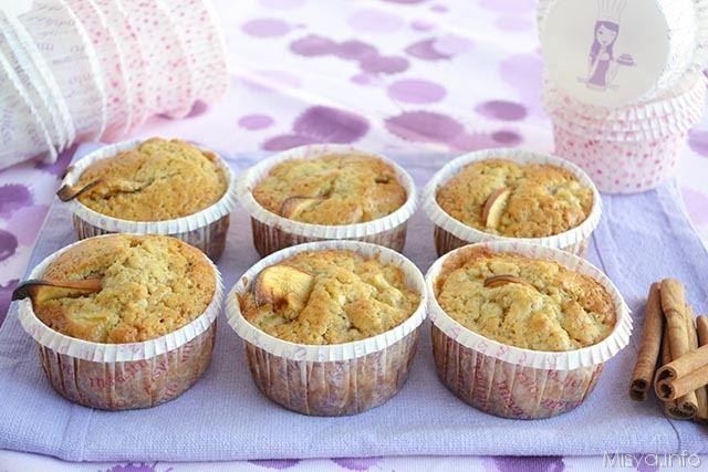 Ricetta Muffin Di Mele.Muffin Mele E Cannella Ricetta Muffin Mele E Cannella Di Misya