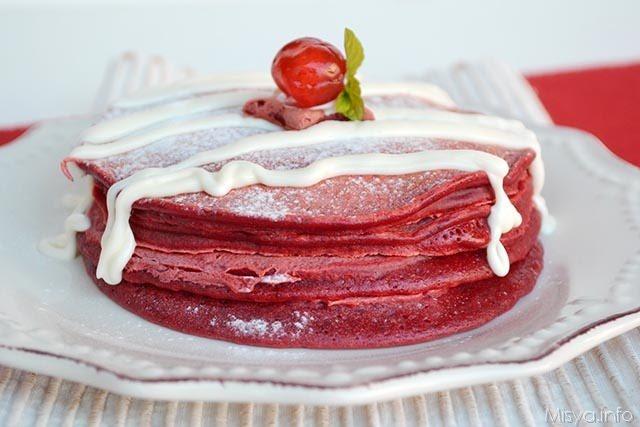 Pancake Red velvet