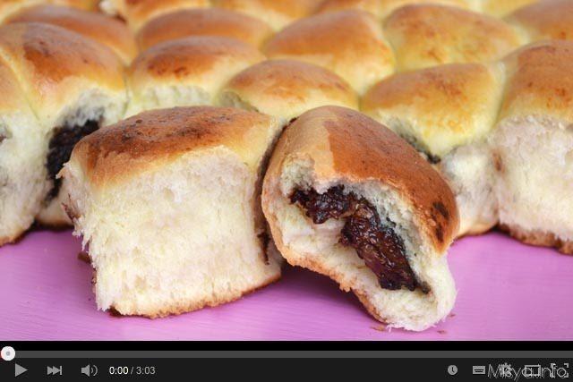 Video ricetta danubio alla Nutella