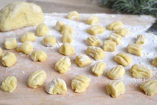 Ricetta i gnocchi di patate