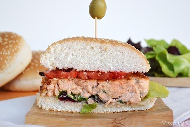 panino_Burger di salmone