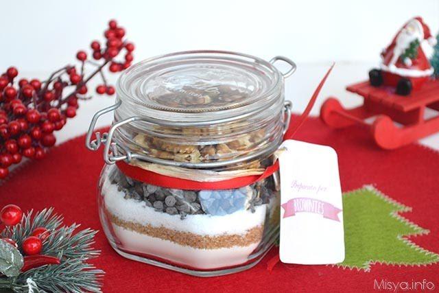 Ricetta Brownies In Barattolo.Preparato Per Brownies Ricetta Preparato Per Brownies Di Misya