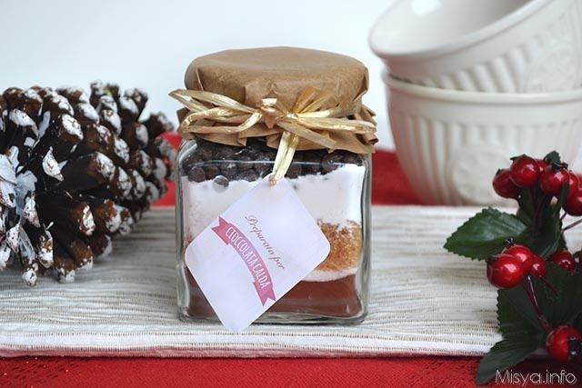 Regali Di Natale Gastronomici Fatti In Casa.Preparato Per Cioccolata Calda