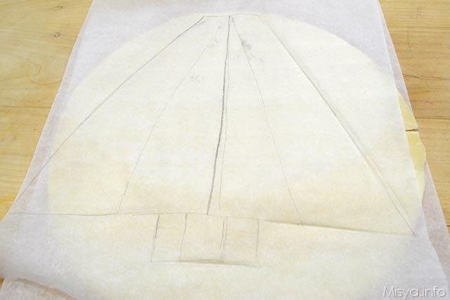 1 disegnare sagoma