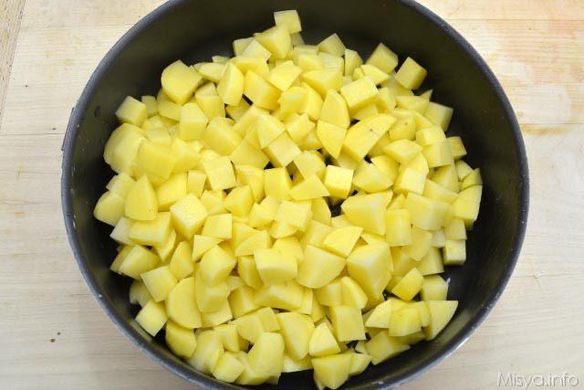 3 patate nella teglia