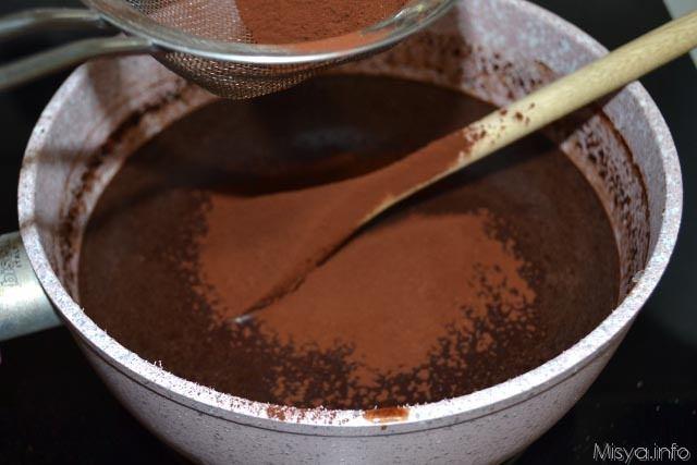 6 aggiungere cacao