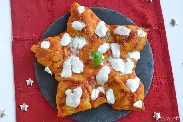 Pizza a stella