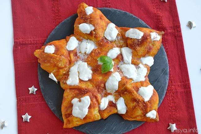 Pizze e Focacce ricette Pizza a stella