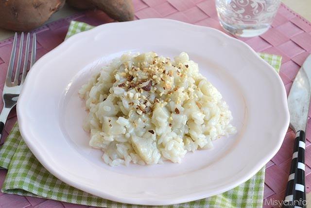 Risotto al topinambur ricetta risotto al topinambur di for Risotto ricette