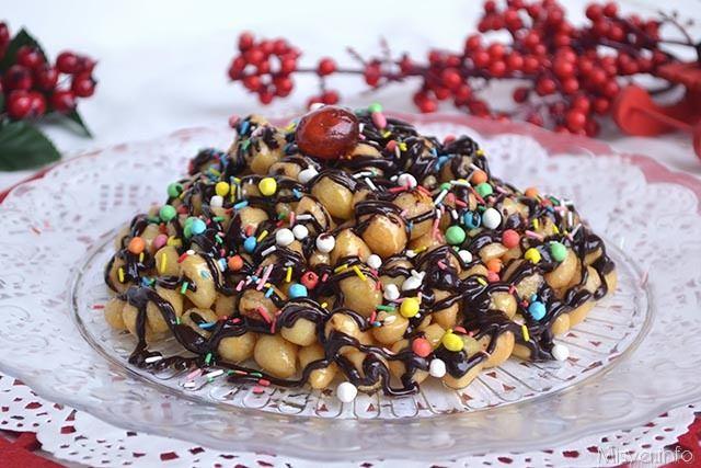 Struffoli al cioccolato