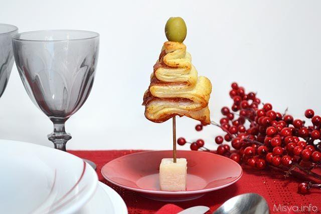 Albero Di Natale Di Pasta Sfoglia.Alberelli Di Pasta Sfoglia Ricetta Alberelli Di Pasta Sfoglia Di Misya