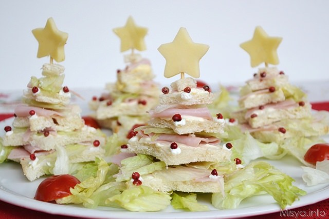 Antipasti Alberelli Di Natale.Alberi Di Natale Di Pancarre Ricetta Alberi Di Natale Di Pancarre Di Misya