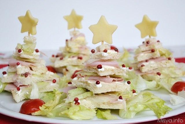 Antipasti Di Natale Albero.Alberi Di Natale Di Pancarre Ricetta Alberi Di Natale Di Pancarre Di Misya