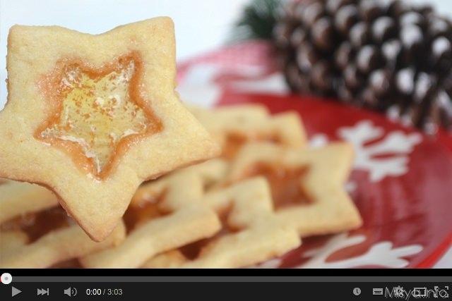 Video ricetta biscotti di vetro