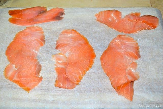 1 fettine salmone