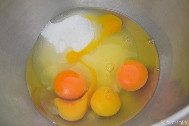 1 uova e zucchero