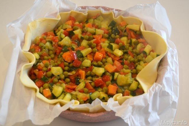 14 aggiungere verdure