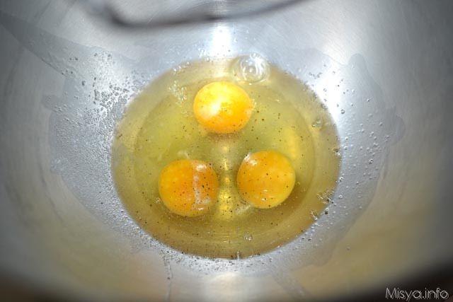 2 montare uova