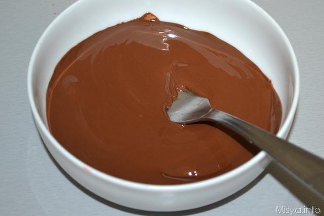 5 sciogliere cioccolato