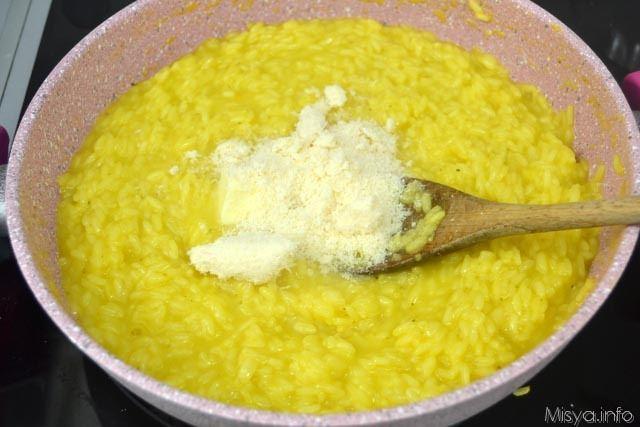 7 mantecare risotto