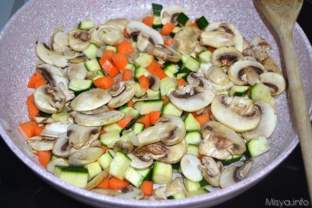 8 verdure in padella
